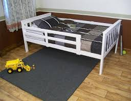 kids twin bed. Delighful Twin DutchCrafters Kids Twin Mission Bed With Safety Rails Throughout