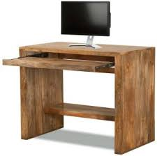 wood office table. the attic solid wood computer desk office table