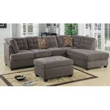 microfiber sectional sofa. Plain Sectional Quickview And Microfiber Sectional Sofa R