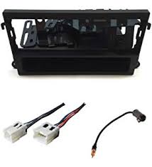 amazon com stereo install dash kit ford taurus 00 01 02 03 2000 asc audio car stereo dash kit wire harness and antenna adapter for installing a