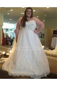 ball gown for plus size tulle spaghetti straps chapel train ivory sleeveless ball gown plus