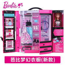 barbie doll gift set large little princess birthday gift dream closet can dress up