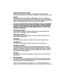 Example Of Catering Contract Sample Wedding Catering Contract Catering Agreement Page 2