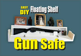 Hidden Gun Coat Rack DIY Floating Shelf Secret Hidden Gun Safe YouTube 63