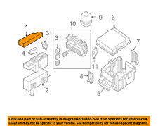 nissan titan other nissan oem 13 15 titan electrical fuse box cover 243829fm0a