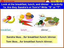 Breakfast Lunch And Dinner Chart Breakfast Lunch Dinner Apple Banana Eggs Orange