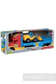 <b>Игрушка Wader Super Truck</b> с трактором (36520) купить в ...
