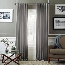grey curtains for bedroom. cotton luster velvet curtain - platinum grey curtains for bedroom