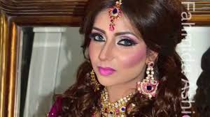 real bridal makeover inspired by naeem khan hair and make up by fahmida ashiq look 7 you