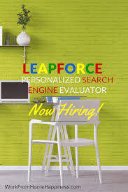 Search Engine Evaluator Work From Home Happiness