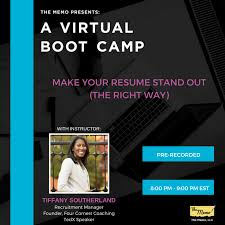 How To Make Your Resume Stand Out Stunning Virtual Career Boot Camp Make Your Resume Stand Out The Right Way