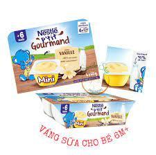 Váng sữa Nestle cho bé 6m | Bột, cháo ăn dặm