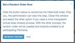 Draft Order Generator