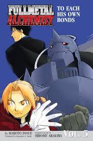 fullmetal alchemist the ties that bind novel book by makoto  cvr9781421514314 9781421514314 hr