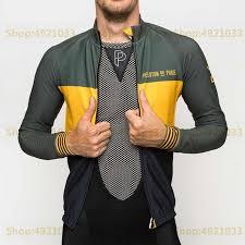 Spring New 2019 Fashion Brand Cycling Jersey Men Long