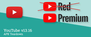 """YouTube v13.16 may be preparing """"Red"""" rebrand to """"Premium"""" and ..."""
