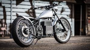 sine cycles adds electric power to the old school chopper