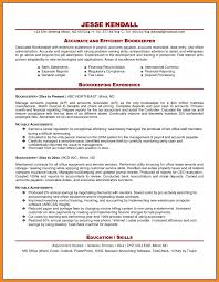 Bookkeeping Resume Examples Bookkeeping Resume Examples Examples of Resumes 22