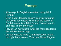 the essay in a nutshell how to make it better ppt video online format all essays in english are written using mla format