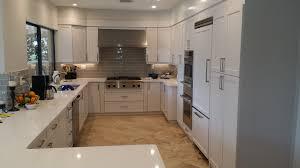 white modern custom kitchen cabinet design installation new style kitchen cabinets miami florida usa