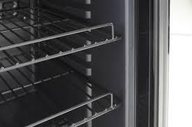 swan undercounter glass fronted fridge drinks wine cooler 80ltr h840 w475 to enlarge
