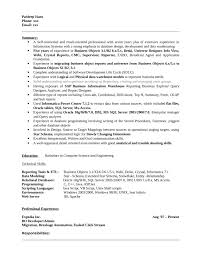 Business Objects Resume Business Objects Developer Resume shalomhouseus 1