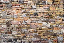 wall stone pattern brick old