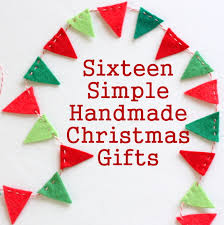 16 Simple Handmade Christmas Gift tutorials - Diary of a Quilter ...