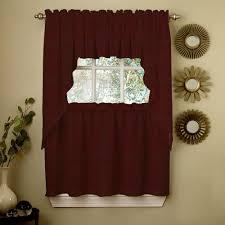 Plaid Kitchen Curtains Valances Wine Curtains Ebay
