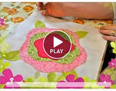 Image result for french roses quilt pattern free   Raw edge ... & Big Bloomers video - soft edge applique technique Adamdwight.com