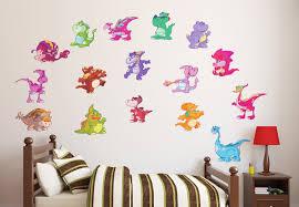 dinosaur wall decor stickers