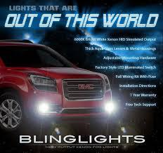 2013 Gmc Acadia Fog Light Kit 2013 2016 Gmc Acadia Xenon Driving Light Fog Lamp Kit