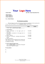 quote letter template quote templates quote letter template quotation template pdf 2 png