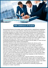 professional mba statement of purpose sample statement of  our mba statement of purpose sample