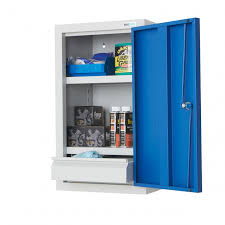 wall mounted steel cabinets metal