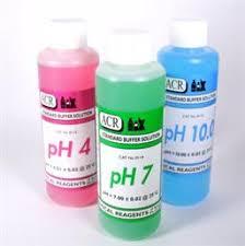 Ph 4 7 10 250 3 Pack Of Ph Buffer Solution Ph 4 Ph 7 Ph 10