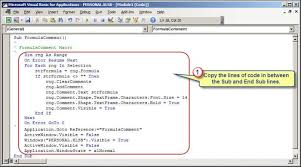 Displaying Excel Formulas Within Worksheet Cell Comments Accountingweb