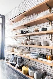 Open Shelf Kitchen 17 Best Ideas About Open Shelving On Pinterest Open Shelf