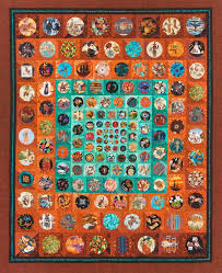 Tucson Quilters Guild 2014 raffle quilt. The circles are all made ... & Tucson Quilters Guild Annual Quilt Show Adamdwight.com