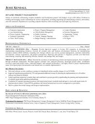 Great Sample Non It Project Manager Resume Aviation Project Manager