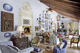 blue and white furniture. Decorate With Blue-and-White China Blue And White Furniture