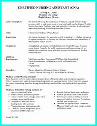 Cna Resume Sample For Hospital With Experience Complete Guide