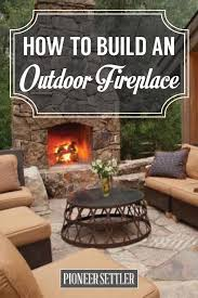 incredible decoration build outdoor fireplace interesting how to build an outdoor fireplace