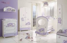 purple baby girl bedroom ideas. Cute White And Purple Crib Design With Teddy Bear Baby Furniture Captivating Wall Mounted Girl Bedroom Ideas R