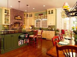 Country Kitchen Buffet Locations Robby Home Design Simple