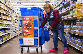 Walmart is piloting a pricier 2-hour Express grocery delivery service