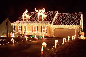 beautiful christmas lights on houses. Wonderful Lights Decorating Your Home For Christmas Ideas Beautiful Inspirational Design  Lights Houses Intended On O