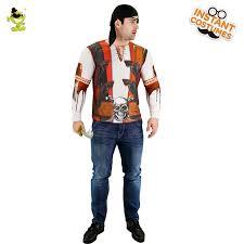 Man 3 D <b>Digital Printing</b> T Shirt Deluxe Pirate Costume <b>Halloween</b> ...