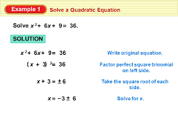 3 example 1 solve a quadratic equation solve x