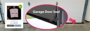 garage door bottom seal for uneven floor new wifi garage door opener